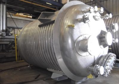 Double Jacket heavy reactor For Bromine industries